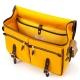 Brompton Game bag, Mustard Yellow - Open