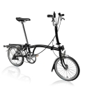 Brompton 2016 M3R Black with front carrier block