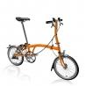 Brompton S3L Orange folding bicycle