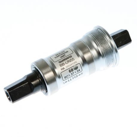 Shimano BB-UN55 bottom bracket British thread 68 - 122.5 mm