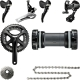 Shimano FC-5800 105 complete groupset