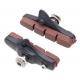 Halt Gooey coloured road brake pad cartridge - brown