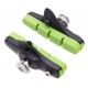 Halt Gooey coloured road brake pad cartridge - lime green