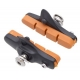 Halt Gooey coloured road brake pad cartridge - orange