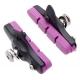 Halt Gooey coloured road brake pad cartridge - purple