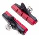 Halt Gooey coloured road brake pad cartridge - red