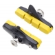 Halt Gooey coloured road brake pad cartridge - yellow