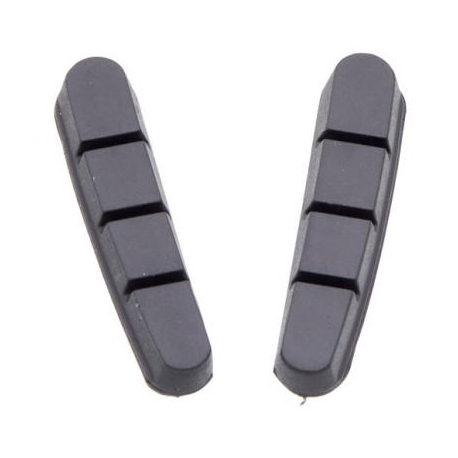 Halt Gooey Road Replacement Brake Pad Inserts - Black