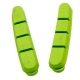 Halt Gooey Road Replacement Brake Pad Inserts - Green