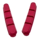 Halt Gooey Road Replacement Brake Pad Inserts - Red