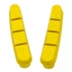Halt Gooey Road Replacement Brake Pad Inserts - Yellow