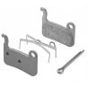Shimano BR-M965 M06Ti XTR sintered brake pads - Ti backing