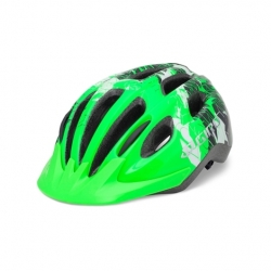 Giro Flurry II Youths bright green Uni-fit Helmet - 50-57cm