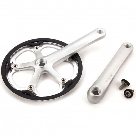 "Brompton crankset with 44T ""spider"" chainwheel"
