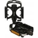 M:Part alloy City pedals - black / silver