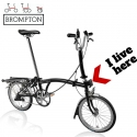 Brompton front carrier block assembly - QFCBA - where it lives!