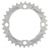 Shimano FC-M430-8 chainring and protector, 22T, silver