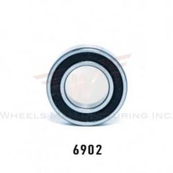 Sealed cartridge bearing ABEC-5 6902 by Wheels Manufacturing