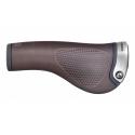 Ergon GP1 Leather Handlebar grips - brown