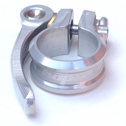 Hope seat clamp - quick release - 28.6 - Silver