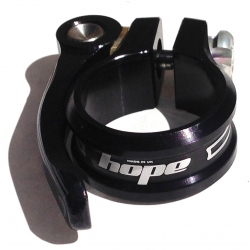 Hope seat clamp - quick release - 31.8 - Black