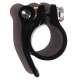 Hope seat clamp - quick release - 31.8mm - Black - top view