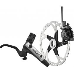 Shimano SLX I-spec-B compatible brake with post mount calliper, rear
