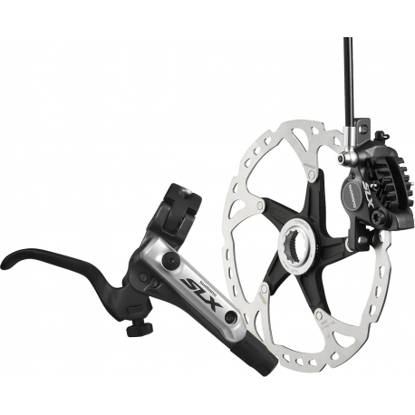 Shimano SLX I-spec-B compatible brake with post mount calliper, rear
