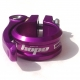 Hope seat post clamp - quick release - 34.9mm - Purple
