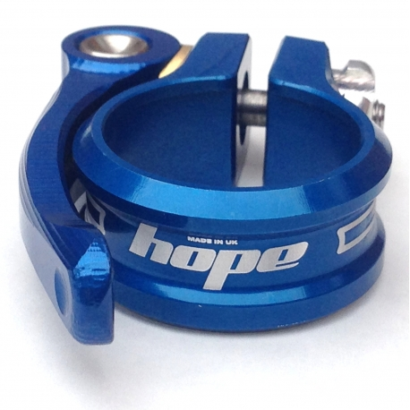 Hope seat clamp - quick release - 31.8 - Blue