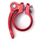 Hope red quick release seat post clamp - 31.8mm diameter