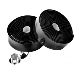 Primo anti-slip bar tape with shock-absorbent silicone gel, black by M:Part