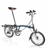 Brompton S3R Tempest Blue / White folding bicycle