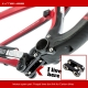 Lower box link for Intense carbon bikes - location