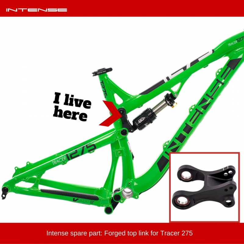 Intense spare part | Top link for Tracer 275