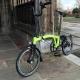 Brompton M2L Lime Green BLACK edition folding bicycle