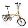 Brompton H3L Orange folding bicycle