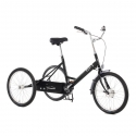 Pashley Tri-1 adult folding tricycle with fixed single speed