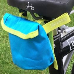 Brompton saddle pouch - Lagoon Blue