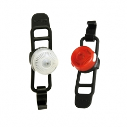 Cateye Loop2 Front and Rear Light Set
