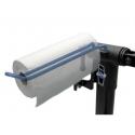 Paper towel holder for Park Tool repair stands