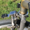 Mounting bracket for Brompton Cateye front light