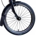 Brompton BLACK 16 inch front wheel