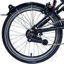 Brompton BLACK single / two speed rear wheel