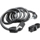 Kryptoflex 1218 Resettable Combo cable with FlexFrame C bracket (12 mmx180cm)