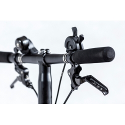 Brompton S type handlebar - BLACK