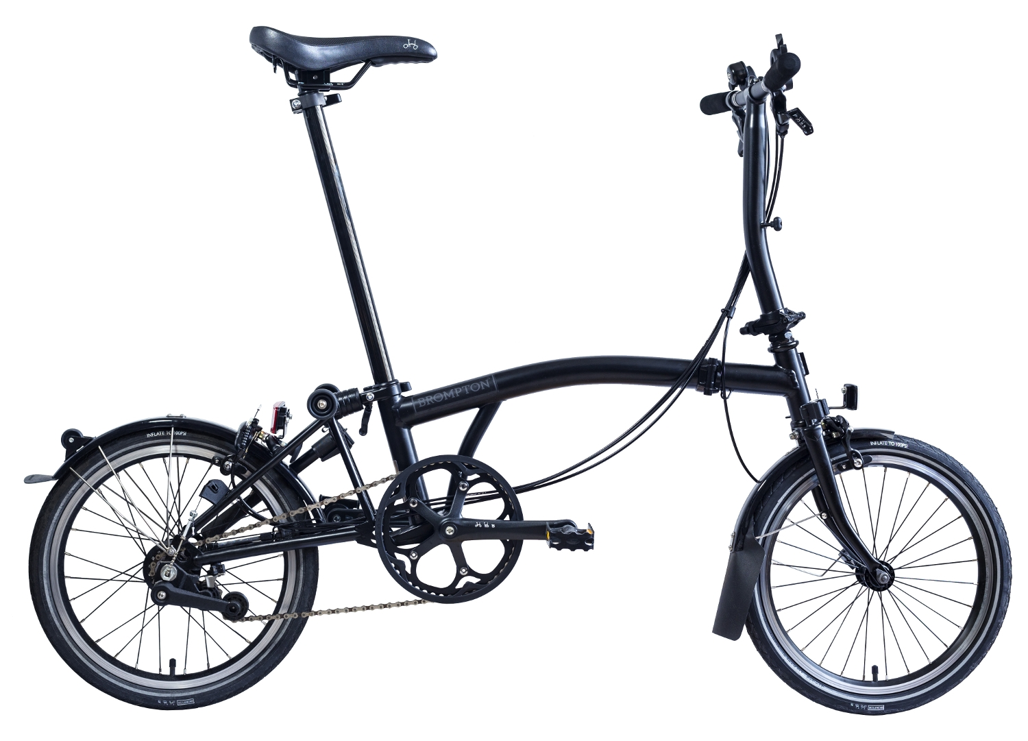 Seat Pillar Standard or Extended Length Brompton Black Edition Seatpost