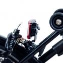 Brompton BLACK bracket for rear battery lamp - no rack version