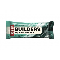 Chocolate Mint BUILDERS's 20g protein bar by Clif