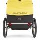 Burley Bee bike trailer for kids - rear view